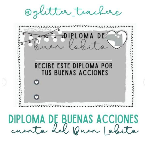 Sandra Alguacil actividad Diploma de buenas acciones