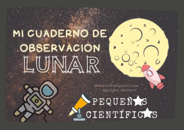 Actividad Mi cuaderno de observación lunar - Sandra Alguacil