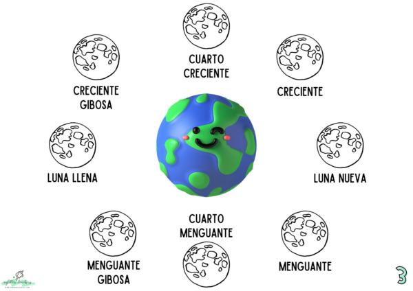 Recurso Fases de la luna Sandra Alguacil