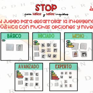 Stop: juego de mesa de Sandra Alguacil
