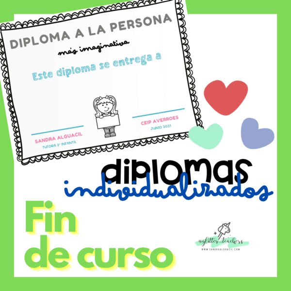 Recurso Diplomas Personalizables Sandra Alguacil