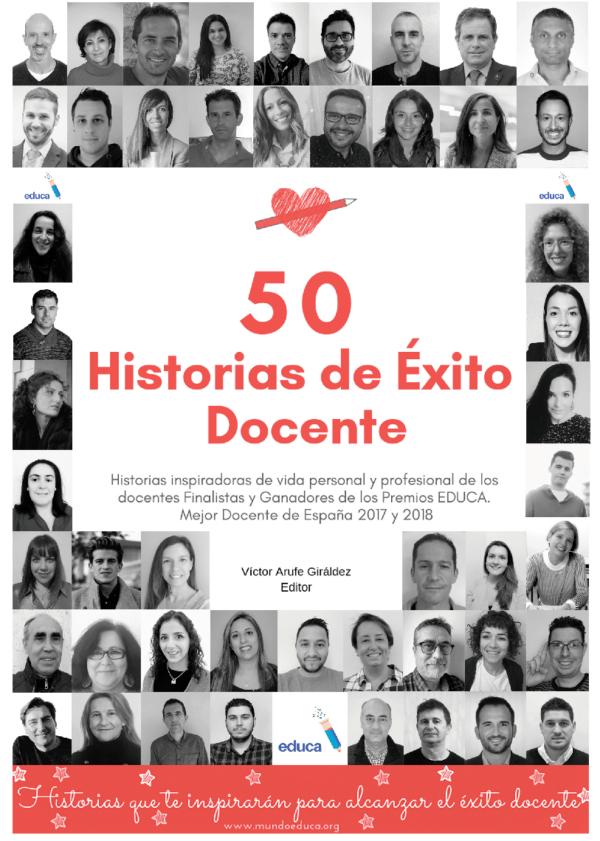 50 historias de éxito docente - Coautoría de Sandra Alguacil