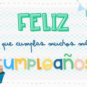 Diplomas de cumpleaños Sandra Alguacil