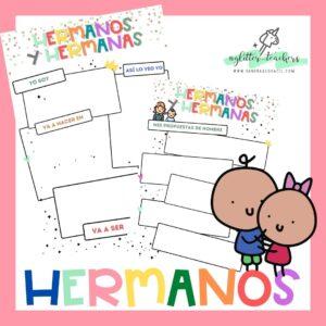 Herman@s: propuesta para involucrarles de Sandra Alguacil