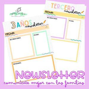 Newsletter Molonas para Familias - Recurso Sandra Alguacil
